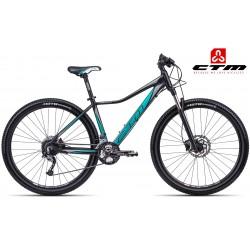 Ctm Christine 2.0 2017 dámské horské kolo černé zelené