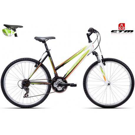 STEFI 2.0 CTM 2016 černé zelené dámské kolo