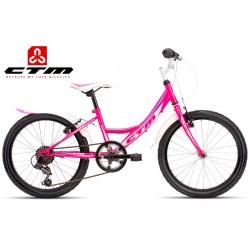 CTM MAGGIE 2.0 2017 růžové bílé dětské dívčí kolo