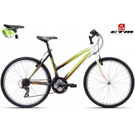 STEFI 1.0 CTM 2016 černé zelené dámské kolo