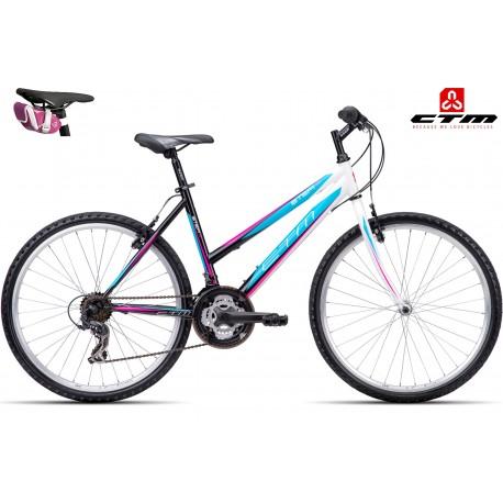 STEFI 1.0 CTM 2016 černé modré dámské kolo