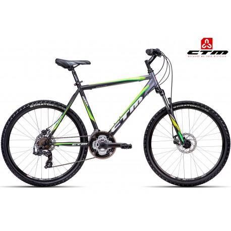 REBEL CTM 2.0 2016 černé zelené horské kolo