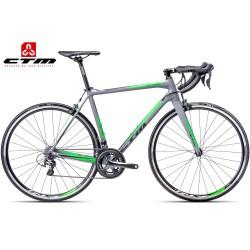 Silniční kolo Blade 2.0 CTM 2017 matné šedé zelené