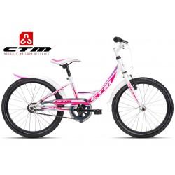 CTM MAGGIE 1.0 2017 bílé růžové dětské dívčí kolo