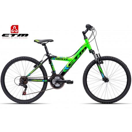 WILLY 2.0 CTM 2016 černé zelené