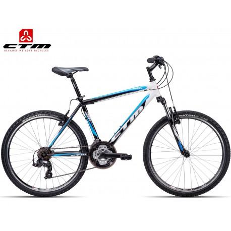 REBEL CTM 1.0 2016 černé světle modré horské kolo