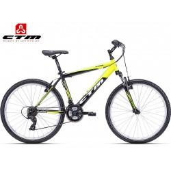 CTM Axon 2018 černé žluté horské kolo