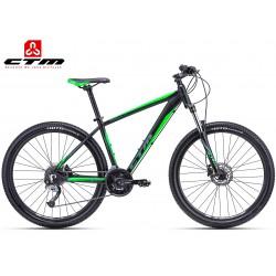 CTM Swell 1.0 2018 černé zelené horské mtb kolo