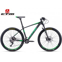 CTM Caliber 3.0 2018 mtb horské kolo černé zelené