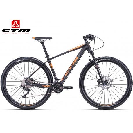 CTM RASCAL 2.0 2018 horské kolo černé oranžové