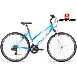 JESSIE CTM 2016 světle modré bílé dámské kolo