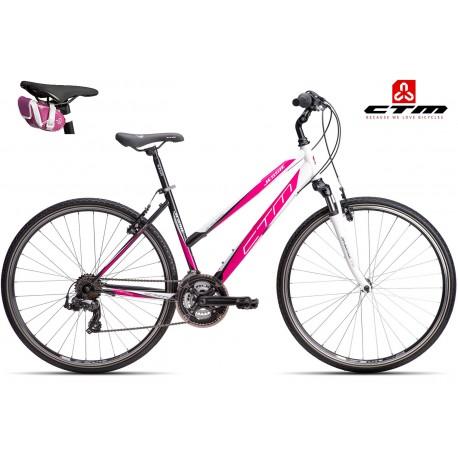 JESSIE CTM 2016 černé růžové dámské kolo