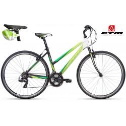 Trekové kolo MAXIMA 1.0 CTM 2016 černé zelené