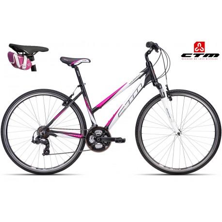Trekové kolo MAXIMA 2.0 CTM 2016 černé růžové