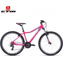 Ctm Charisma 1.0 2019 dámské horské kolo matné sytě růžové