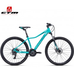 Ctm Charisma 2.0 2019 dámské horské kolo matné tyrkysové modré
