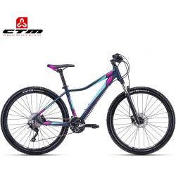 Ctm Charisma 6.0 2019 dámské horské kolo černé petrolejové fialové