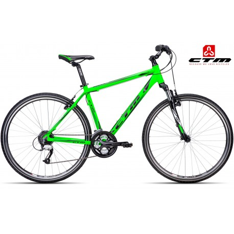 Cross kolo TRANZ 1.0 CTM 2016 zelené černé