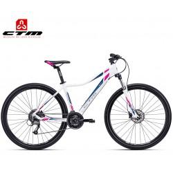 Ctm Christine 3.0 2019 dámské horské kolo bílé růžové