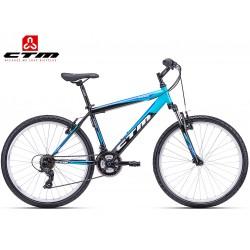 CTM Axon 2018 černé modré horské kolo