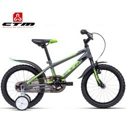 Chlapecké dětské kolo TOMMY CTM 2020 šedé zelené