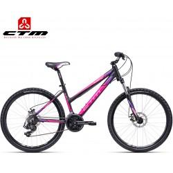 Ctm Suzzy 2.0 2020 dámské horské kolo černé růžové