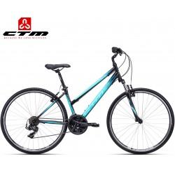 JESSIE CTM 2020 černé modré dámské kolo treking / cross