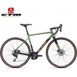 Gravel bike kolo Ctm 2020 Koyuk 2.0 černé zelené