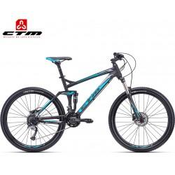 ROCKER CTM 2020 černé modré horské celoodpružené kolo
