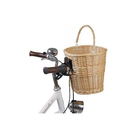 Proutěný koš na kolo