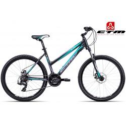 Ctm Suzzy 2.0 2017 dámské horské kolo černé zelené